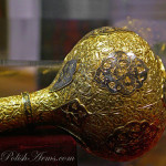 Golden and nielloed mace, 'Lviv Manufacture', 2nd quarter of the 18th c.